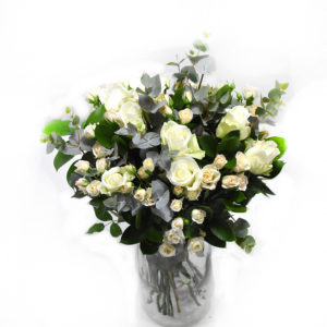 Bouquet white flowers
