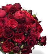 Μπουκέτο με κόκκινα τριαντάφυλλα 2