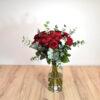 Μπουκέτο 20 κόκκινα τριαντάφυλλα