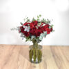 Μπουκέτο 50 κόκκινα τριαντάφυλλα