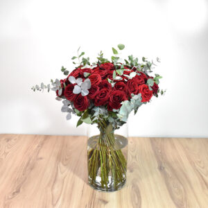 Bouquet with 50 red roses
