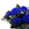 Μπουκέτο μπλε τριαντάφυλλα