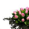 Μπουκέτο ροζ τουλίπες